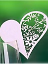 12pcs cartes decoupees au laser dentelle coeur tasse nom lieu carte decorations de fete