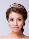 Women\'s Rhinestone / Alloy Headpiece-Wedding / Special Occasion Tiaras Clear