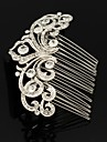 Women\'s / Flower Girl\'s Rhinestone / Alloy Headpiece-Wedding Hair Combs