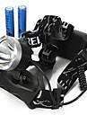 Belysning Pannlampor / Cykellyktor LED 2000/1600/1800/350 Lumen 3 Läge Cree XM-L T6 18650Vattentät / Laddningsbar / Stöttålig / Strike