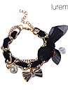kvinders charme bowknot chiffon armbånd (assorteret farve)