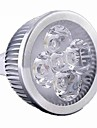 5W GU5.3(MR16) LED-spotlights MR16 4 Högeffekts-LED 400 LM Varmvit Kallvit Dimbar DC 12 AC 12 V 1 st