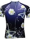 JESOCYCLING® Cycling Jersey Women\'s Short Sleeve Bike Breathable / Quick Dry / Anti-skidding/Non-Skid/Antiskid Jersey / Tops Polyester