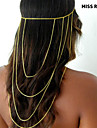 Miss ROSE®Fashionable tassel Multi-layer chain Headband