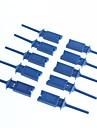 Test clip crochet clips de test analyseur logique cablage crochet (10pcs)