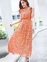 sanfenzise ™ boem rochie dungi maxi femeilor (mai multe culori)