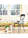 stickers muraux stickers muraux, planter des fleurs de style mur de pvc de autocollants