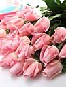 """romantique artificielle blanche peche rose latex rose rouge 6 pieces / lot souches 14,95 """"pour le mariage et decoration fete"""