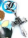 Smycken Inspirerad av Death Note Cosplay Animé Cosplay Accessoarer Halsband Silver Legering Man