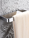 HPB™ Contemporary Chrome Finish Brass Wall Mounted Towel Ring