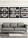 Peisaj Pânză Înrămată / Set Înrămat Wall Art,PVC Negru Fără Rogojină cu Frame Wall Art