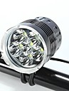 Lampes Frontales / Eclairage de Velo / bicyclette LED Cree XM-L T6 CyclismeEtanche / Rechargeable / Resistant aux impacts / Transport