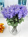 Silke / Plast Ljusblå Konstgjorda blommor