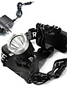 Lampes Frontales LED 1600 Lumens Mode Cree XM-L T6 Cree Cree T6 18650 RechargeableCamping/Randonnee/Speleologie Cyclisme Multifonction