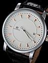 FORSINING® Men's Watch Automatic self-winding Skeleton Watch Calendar Leather Band Wrist watch Cool Watch Unique Watch