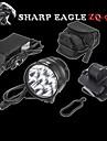 Sharp Eagle® Pannlampor 10800LM Lumen 3 Läge Cree XM-L2 U2 18650 Vattentät / LaddningsbarCamping/Vandring/Grottkrypning /