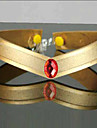 Jewelry / Headpiece Inspired by Sailor Moon Sailor Mars Anime Cosplay Accessories Headband Red / GoldenArtificial Gemstones / Polyester /