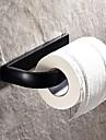 olja gnuggade brons toalettpappershållare