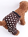 Cat / Dog Pants Brown Summer Polka Dots Wedding / Cosplay