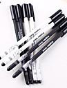 Stylo Stylo Stylos gel Stylo,Plastique Baril Noir Couleurs d\'encre For Fournitures scolaires Fournitures de bureau Paquet