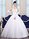 Ball Gown Wedding Dress Floor-length Sweetheart Tulle with