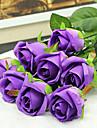 Une succursale Soie Roses Fleur de Table Fleurs artificielles #(21.26x3.94x2.76)