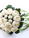 wedding bouquet de mariage mariee tenant des fleurs, colth de soie simulation camelia blanc