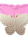 decoration de gateau dentelle moule papillon moule en silicone pour l\'artisanat fondant de chocolat bonbons bijoux argile de resine de PMC