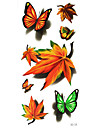 JiaMei - Tatueringsklistermärken - Non Toxic/Waterproof - Djurserier - till Spädbarn/Barn/Dam/Girl/Herr/Vuxen/Boy/Tonåring - Multifärgad -