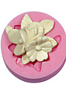 kaka Utsmyckning blomma mögel silikon brosch mögel för fondant godis hantverk smycken choklad pmc harts lera