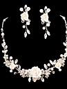 Women\'s Cubic Zirconia/Alloy Jewelry Set