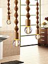 MAX 60W Traditionnel/Classique Style mini Bois/Bambou LustreSalle de sejour / Chambre a coucher / Salle a manger / Bureau/Bureau de