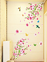 stickers muraux stickers muraux, papillon de style de peche pvc stickers muraux