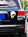 bil klistermärken med djävulen skallen bil styling