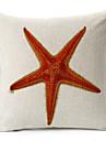 modern stil sjöstjärnor mönstrad bomull / linne dekorativa örngott