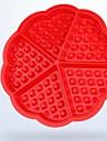 bakeware högkvalitativa silikon bakning formar för våfflor kaka kaka