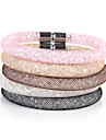 Vilam® Mesh Stardust Bracelets With Crystal stones Filled Magnetic Clasp Charm Bracelets Bling Bling inspirational bracelets