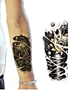 Tatueringsklistermärken - Non Toxic/Tatueringsmaskin/Ländrygg/Waterproof - Annat - till Barn/Dam/Herr/Vuxen/Tonåring - Multifärgad/Brons - Papper - 1