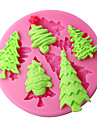 moules gateau de decoration arbre de Noel moule en silicone
