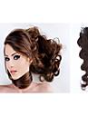 Människohår förlängningar Mänskligt hår 100 20 Hårförlängning