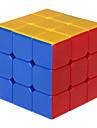 Mjuk hastighetskub 3*3*3 Hastighet Magiska kuber Regnbåge Plast