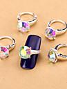 10 - Bijoux pour ongles/Autre decorations - Doigt - en Fleur/Abstrait/Adorable/Mariage - 11*7.5*1.5