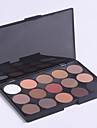 Makeup Glitter Matte Eyeshadow Palette Neutral Nude Eyeshadow 15 Colors(Model 2)