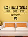 väggdekorationer väggdekaler, är stil liv som engelska ord&citerar pvc väggdekorationer