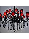 Lustre ,  Traditionnel/Classique Peintures Fonctionnalite for Cristal Metal Salle de sejour