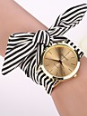 2015 newGeneva Fashion Watches Women Dress Watch Wristwatch Girl Bow Cloth Strap Cool Watches Unique Watches