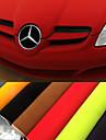 135 * 30cm 8 färger sammet tyg sammet film mocka film bil klistermärke kupén sticker karossen dekoration klistermärke