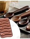 mode silikon choklad mögel is gelé kaka Utsmyckning kök söt mat bakeware matlagning tårta verktyg (slumpmässig färg)
