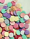 "3000 PCS 2/5""(1cm) Round Multicolor Tissue Paper Confetti for Party Birthday Decoration"