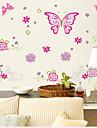 väggdekorationer Väggdekaler, fjärilar pvc vägg klistermärken